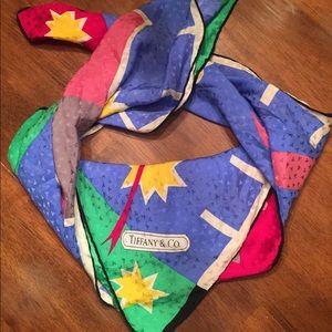 Tiffany & Co. scarf.